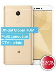 Xiaomi Redmi Note 4X Official Global ROM 3GB 32GB Oro