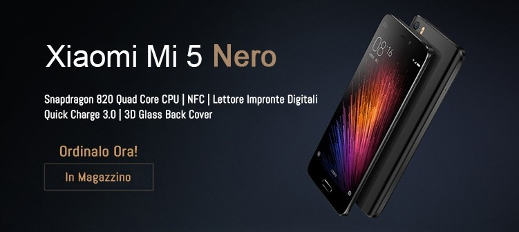 Mi 5 Nero